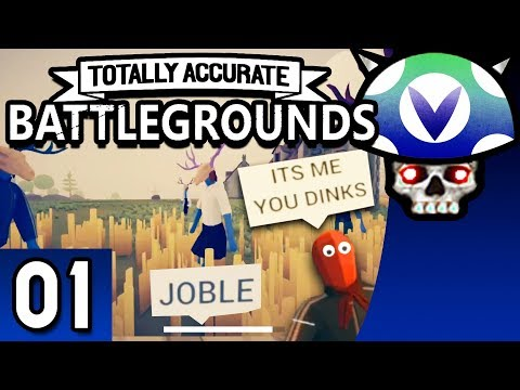 [Vinesauce] Joel - Totally Accurate Battlegrounds ( Part 1 )