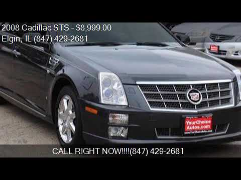 2008 Cadillac STS V6 AWD 4dr Sedan for sale in Elgin, IL ...