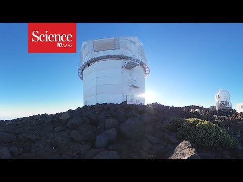 360 Video: Site of the world's largest solar telescope