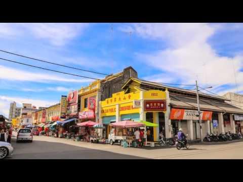 麻坡muar(皇城):麻坡美食,旅游,街景