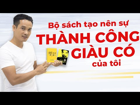 BỘ SÁCH THAY ĐỔI TƯ DUY THÀNH CÔNG, GIÀU CÓ CỦA TÔI | Phát Triển Bản Thân | Thai Pham