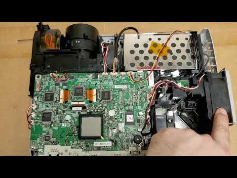 Epson 84+ / 85+ LCD Projector Cleaning