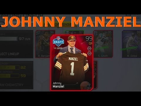 "#MUT25 | New 99 Johnny ""Football"" Manziel 