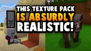 This Texture Pack Iṡ *TOO* Realistic