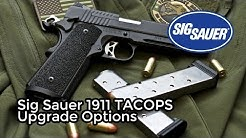 Sig Sauer 1911 TACOPS Upgrade Options: Threaded Barrel and Aftermarket Mags