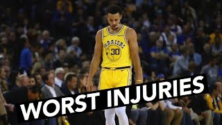 All Of Stephen Curry's Injuries!