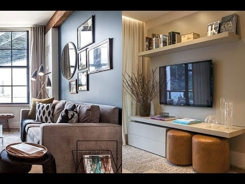 Decoracion de departamentos peque os 2018 youtube for Salas para apartamentos pequenos