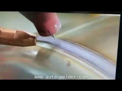 automatic tank tig circular seam welding machine with wire feeding