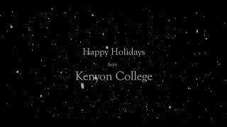 Kenyon College: Happy Holidays 2017