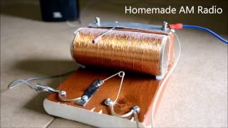 Pilsiz ve elektronik siz Radyo yapımı Sadece Paslı Bir Jilet ve Kurşun Kalem parçası ile