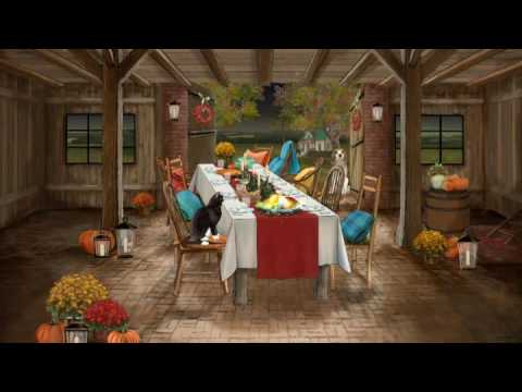 Giving Thanks--Thanksgiving Ecard