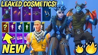 *NEW* Leaked Fortnite Skins & Emotes! (Week 7 Skin, Malcore, Ice King's Queen, Flux, Slick...)