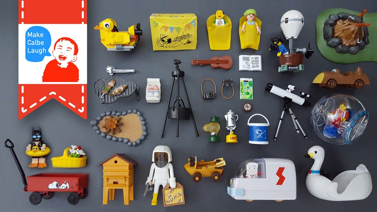Wild camping with kids with lego playmobil - Batman playmobil ...