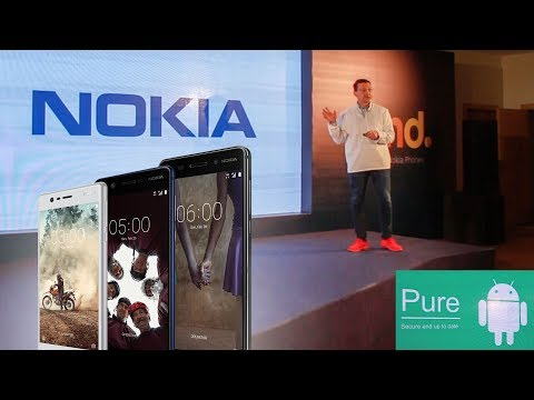 Nokia возвращается! Презентация смартфонов Nokia 3, 5, 6 и телефона Nokia 3310 (2017)
