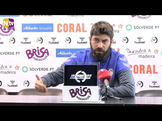 Luís Freire na antevisão ao jogo com o SC Braga: