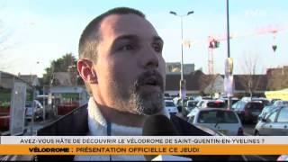 """Le 7/8 L'Actu – Edition spéciale """"Vélodrome"""" du jeudi 19 décembre 2013"""