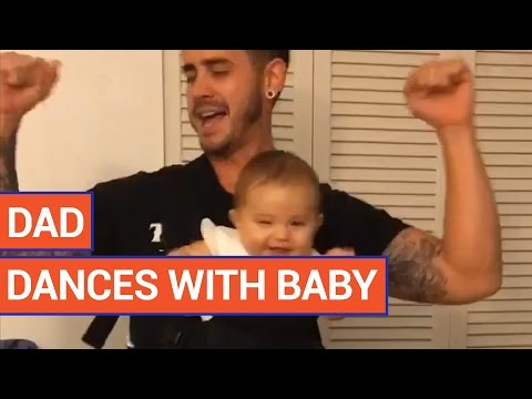 Amazing Father Dances With Baby Girl Video 2016 | Daily Heart Beat