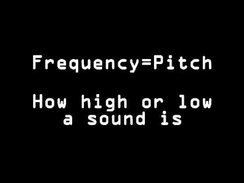 The Physics of Sound   Amplitude and Frequency