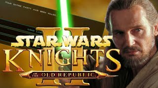BAOMAIDEN STRUGGLES | Star Wars Knights of the Old Republic II: The Sith Lords | Episode 32