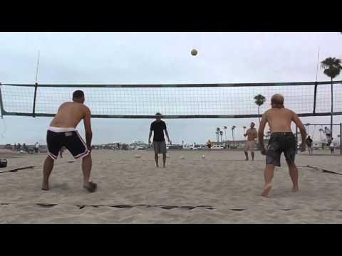 Oceanside Harbor Volleyball Match
