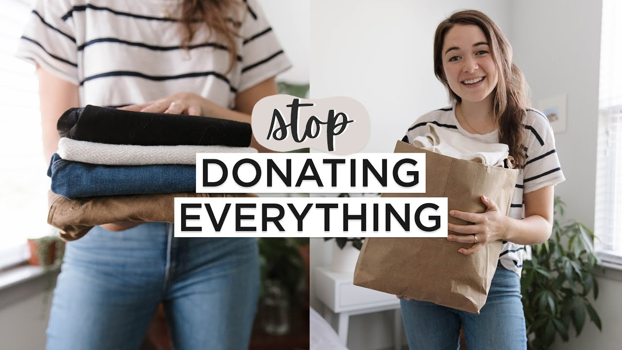 Stop Donating EVERYTHING | How to Responsibly GET RID OF The STUFF You've Decluttered