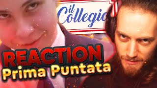 COLLEGIO 5: PRIMA PUNTATA [REACTION MASSEIANA]