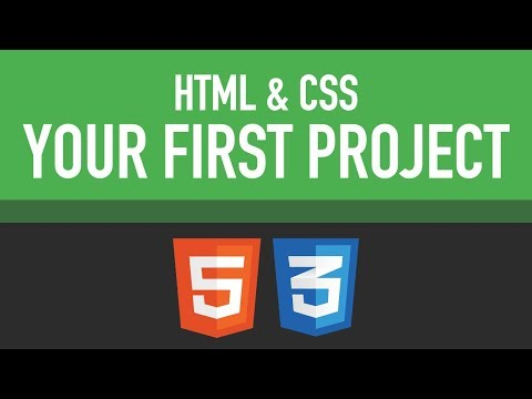 Your First HTML & CSS Project | Learn Web Development Now