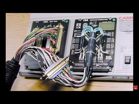 Wire Harness and Cable Testing - YouTube on quick disconnect wire harness, washing machine wire harness, office wire harness, military wire harness,