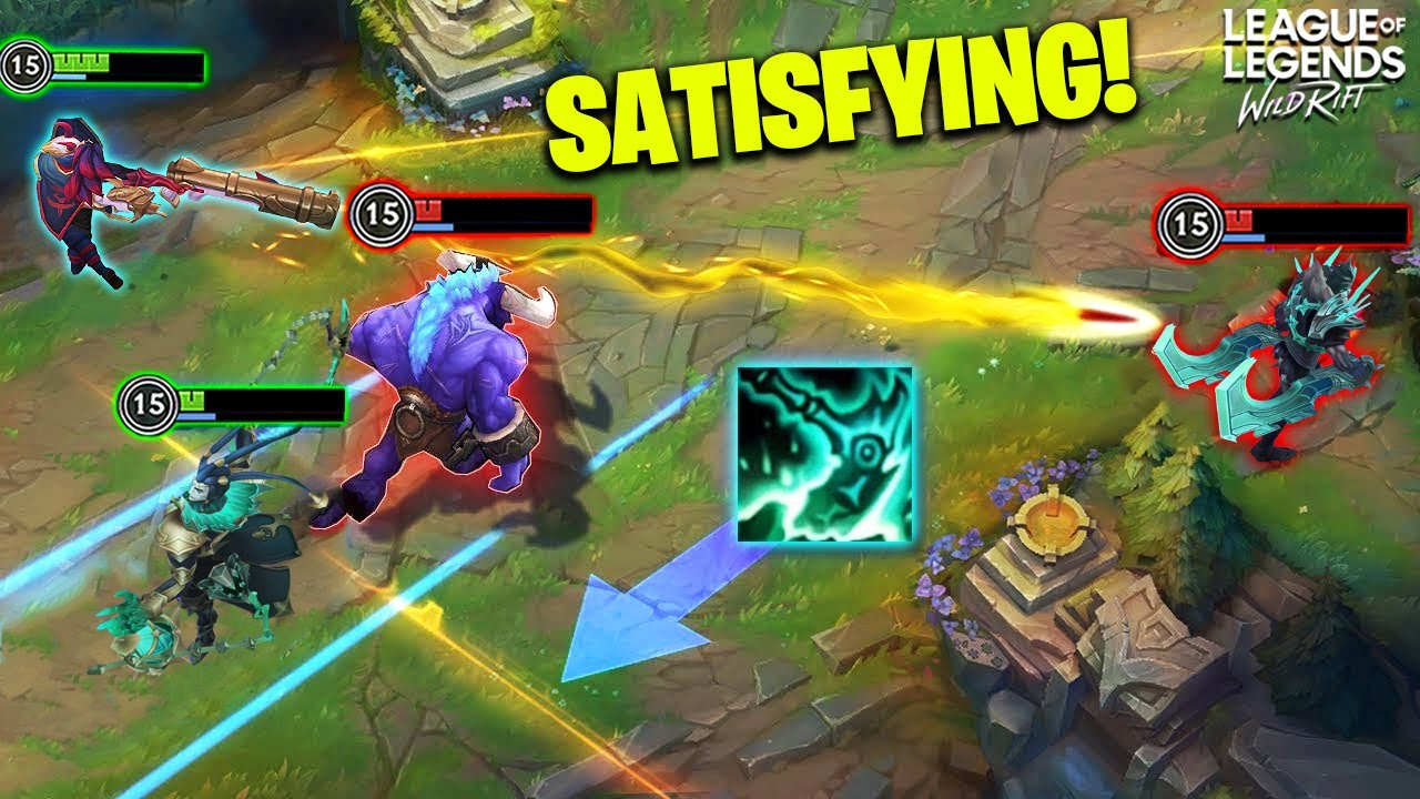 WILD RIFT - When Timing is PERFECT... | 200IQ Tricks & OP Outplays - Wild Rift Highlights Montage