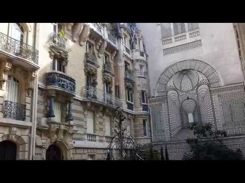 PARIS Immeuble Lavirotte & lycée L De Vinci Art Nouveau