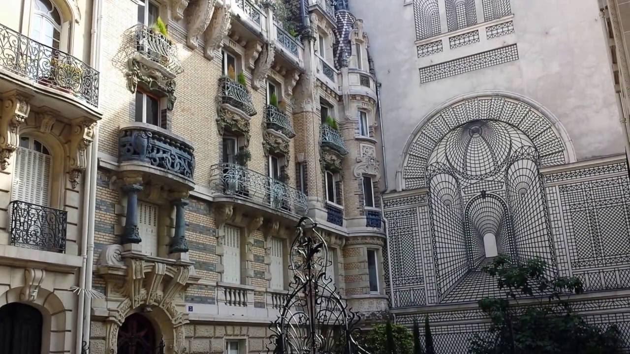 Paris immeuble lavirotte lyc e l de vinci art nouveau - Art nouveau architecture de barcelone revisitee ...