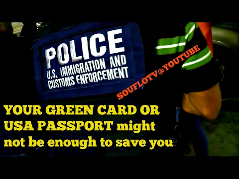 Green card holders Naturalized Citizens, its going down Trump Style 2018