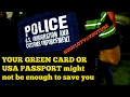Green card holders and USA Passport holders its going down Trump Style