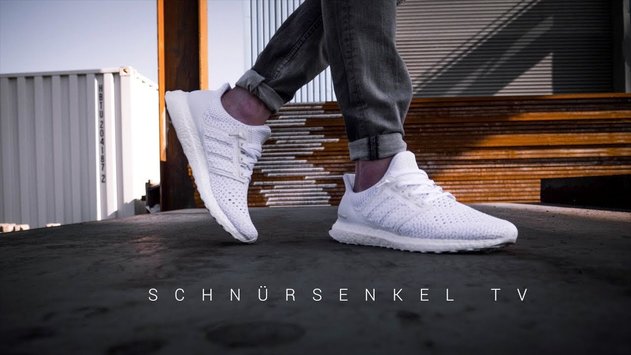 390474b2820ac adidas ultra boost CLIMA triple white der Sommer Sneaker 2018   review  unboxing on feet german