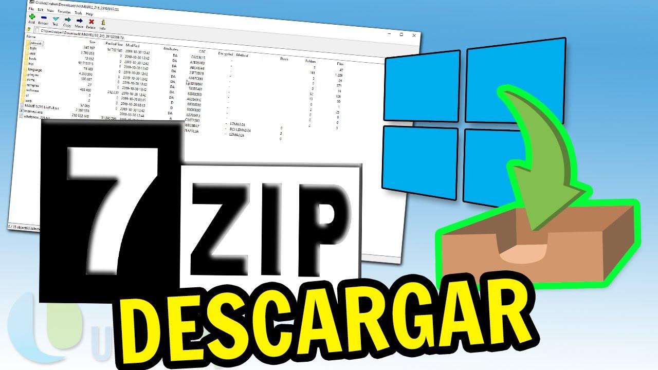 7-zip (64-bit) descargar (2020 última versión) para windows 10, 8, 7.