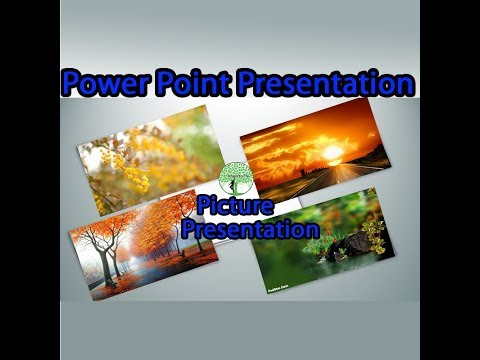 Ms Power point Picture Presentation Class in Telugu
