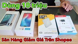 Lâm Vlog - Thử Dùng 10 Triệu Săn Mua Hàng Giảm Giá Trên Shopee thumbnail