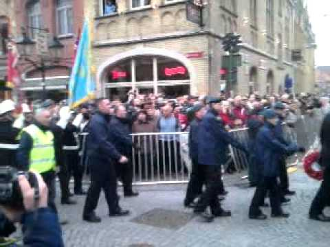 Ieper 11-11-11 Armistice day 2011 Poppy parade 2