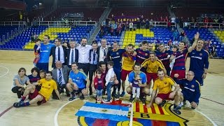 [highlights] hoquei patins (ok liga): fc barcelona lassa-vic (4-4)