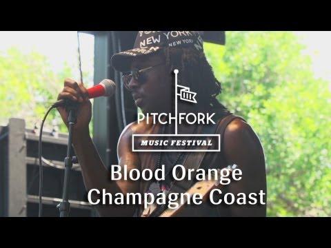 "Blood Orange - ""Champagne Coast"" - Pitchfork Music Festival 2013"