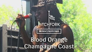 "Blood Orange - ""Champagne Coast"" - Pitchfork Music Festival 2013"