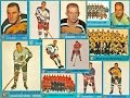 1962-63 Topps NHL Complete Hockey Card Collection