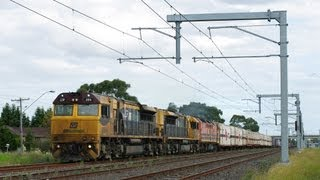 QR National 7MB7 at Broadmeadows.  Sat 07/04/12