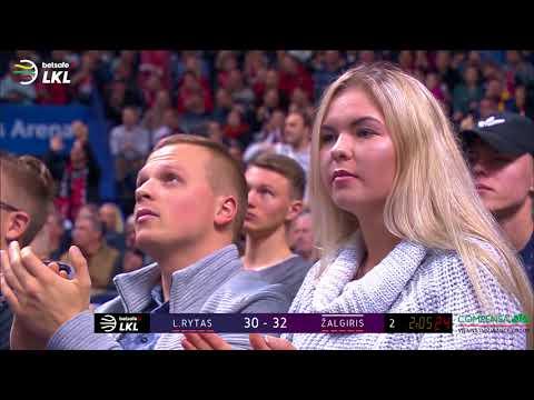 """""""Betsafe-LKL"""" rungtynių apžvalga: """"Lietuvos rytas"""" – """"Žalgiris"""" [2017-10-08]"""