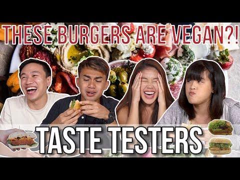 VEGAN BURGERS THAT TASTE LIKE REAL MEAT! | Taste Testers | EP 89