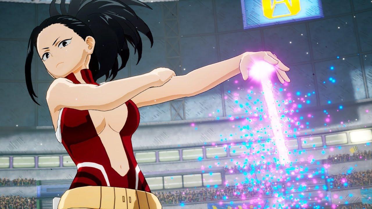 My Hero Academia One S Justice Tsuyu Asui Denki Kaminari Momo Yaoyorozu Gameplay Screenshots