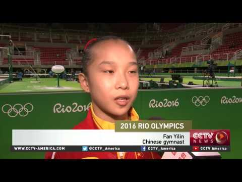 Chinese athletes prepare for Rio Summer Olympics