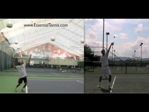 Tennis Serve Technique Comparison Part 1