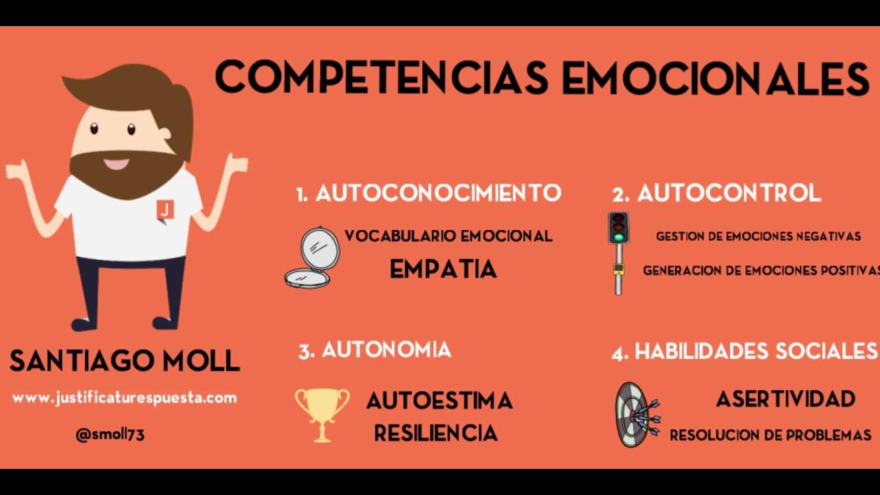 Competencias emocionales - YouTube