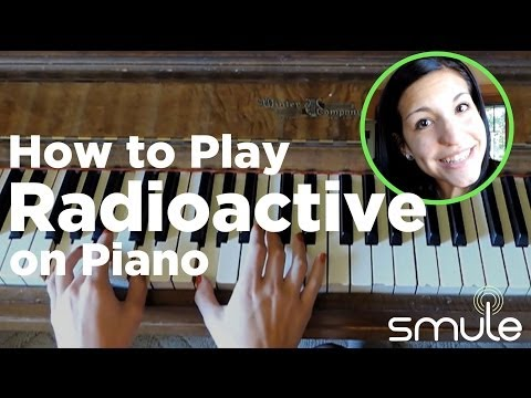 How to Play Radioactive by Imagine Dragons on Piano